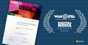 Wan-Ifra, 1st Place Best in Tablet Publishing
